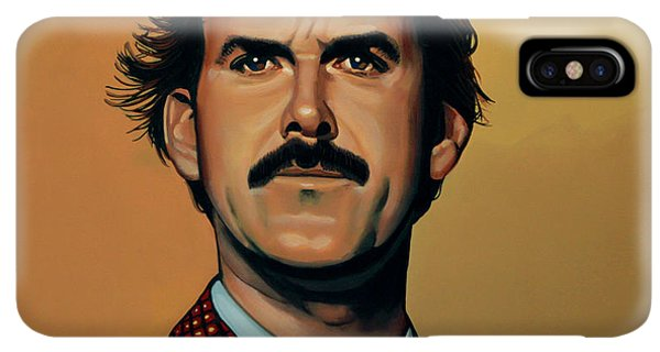 The iPhone XS Max Case - John Cleese by Paul Meijering