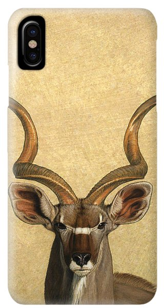 Africa iPhone XS Max Case - Kudu by James W Johnson