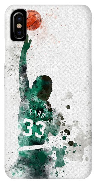 Celtics iPhone XS Max Case - Larry Bird by My Inspiration
