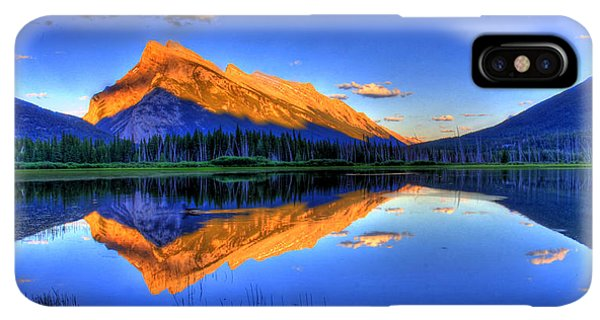Rocky Mountain iPhone XS Max Case - Life's Reflections by Scott Mahon