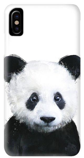 iPhone XS Max Case - Little Panda by Amy Hamilton
