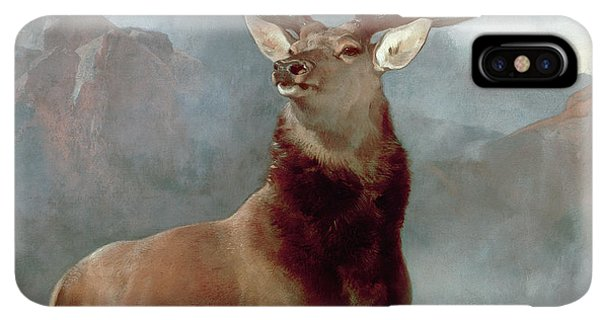 Scotland iPhone XS Max Case - Monarch Of The Glen by Sir Edwin Landseer