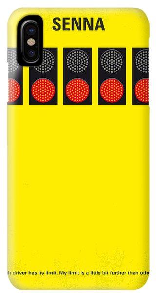 South America iPhone XS Max Case - No075 My Senna Minimal Movie Poster by Chungkong Art
