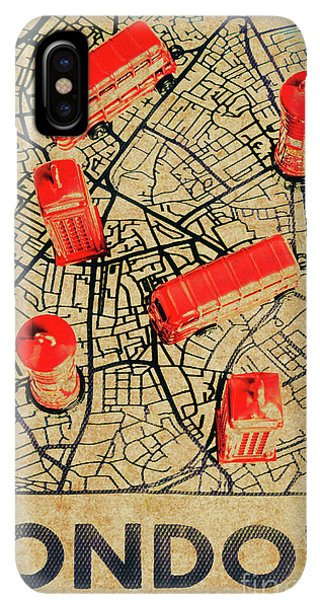 Navigation iPhone XS Max Case - Old Routemaster Way by Jorgo Photography - Wall Art Gallery