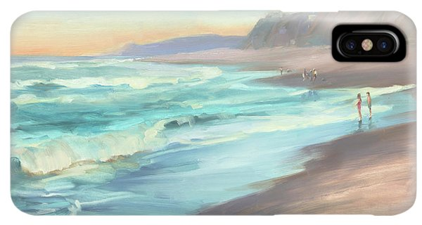 The Sun iPhone XS Max Case - On The Beach by Steve Henderson