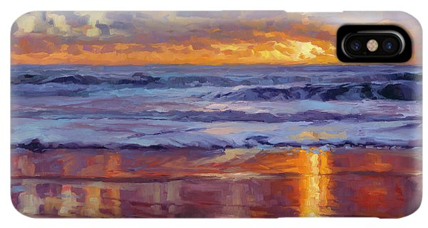 Prayer iPhone XS Max Case - On The Horizon by Steve Henderson