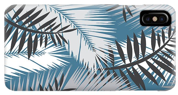 Africa iPhone XS Max Case - Palm Trees 10 by Mark Ashkenazi