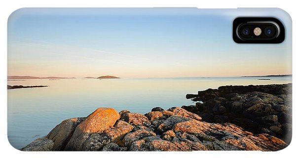 Scotland iPhone XS Max Case - Peaceful Morning by Smart Aviation