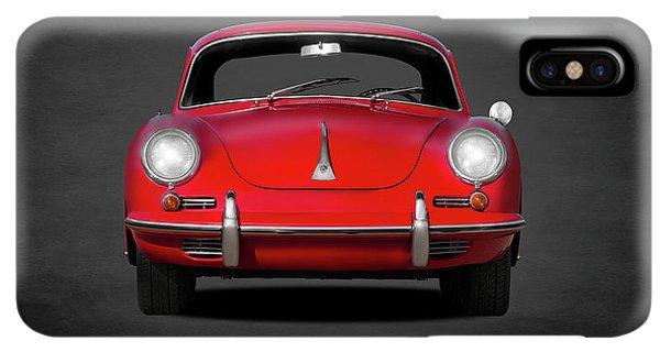 iPhone XS Max Case - Porsche 356 by Mark Rogan