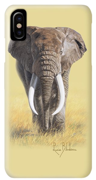 Africa iPhone XS Max Case - Power Of Nature by Lucie Bilodeau