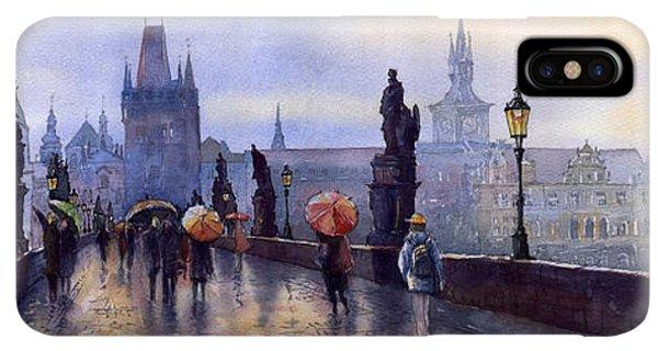 iPhone XS Max Case - Prague Charles Bridge by Yuriy Shevchuk