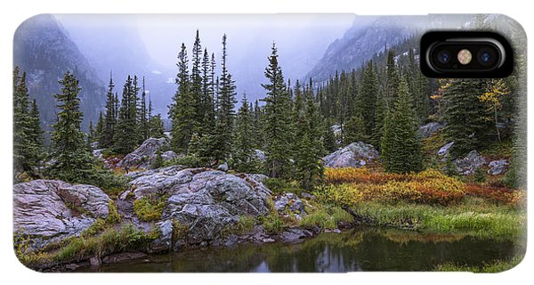 Rocky Mountain iPhone XS Max Case - Saturated Forest by Chad Dutson