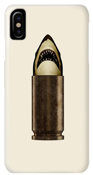 iPhone XS Max Case - Shell Shark by Nicholas Ely