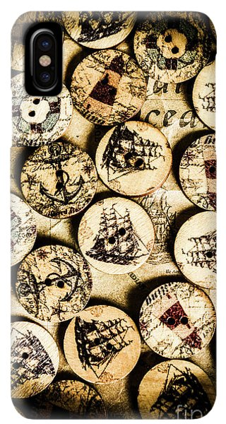 Navigation iPhone XS Max Case - Signs Of Seafaring by Jorgo Photography - Wall Art Gallery