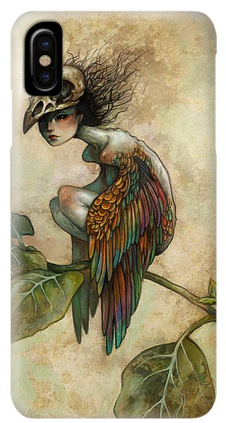 iPhone XS Max Case - Soul Of A Bird by Caroline Jamhour