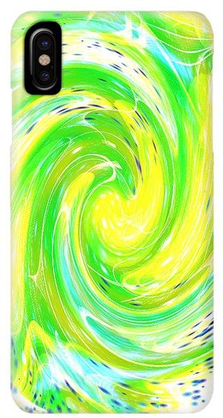 iPhone XS Max Case - Spirit Of Nature I I by Orphelia Aristal