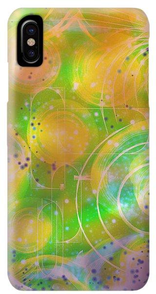 iPhone XS Max Case - Spirit Of Nature I I I by Orphelia Aristal