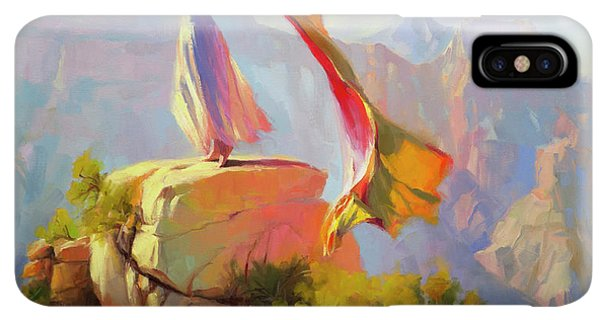 The Sun iPhone XS Max Case - Spirit Of The Canyon by Steve Henderson