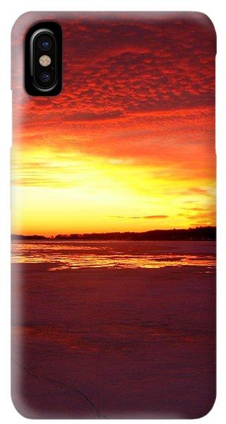 Lake Macatawa Iphone Xs Max Cases Fine Art America