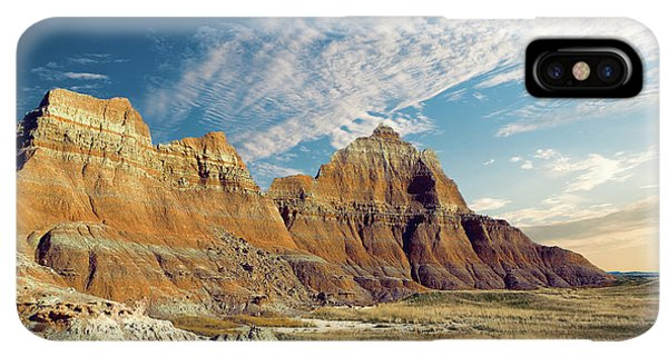 Rocky Mountain iPhone XS Max Case - The Badlands Of South Dakota by Tom Mc Nemar