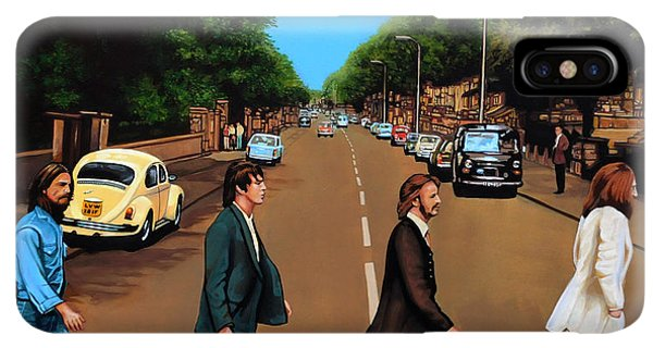 The iPhone XS Max Case - The Beatles Abbey Road by Paul Meijering