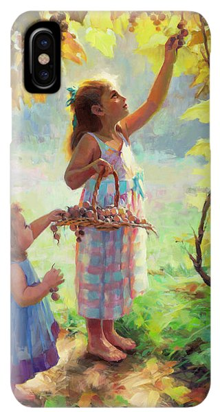 The Sun iPhone XS Max Case - The Harvesters by Steve Henderson