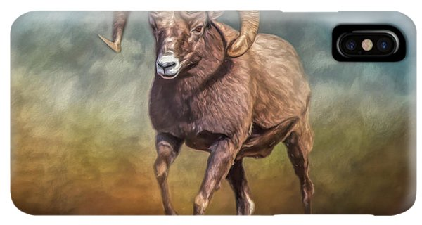 Rocky Mountain Bighorn Sheep iPhone XS Max Case - The Ram by Teresa Wilson
