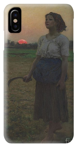 The Sun iPhone XS Max Case - The Song Of The Lark by Jules Breton