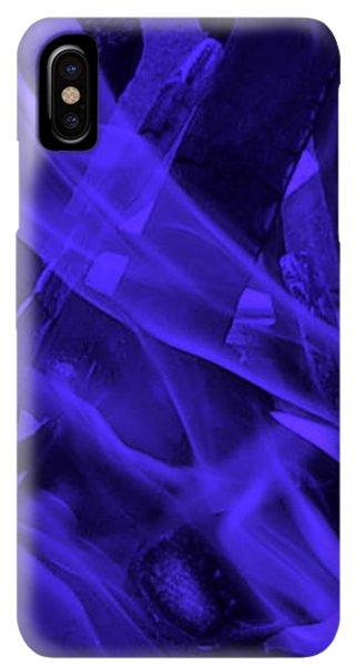 iPhone XS Max Case - Violet Shine I I by Orphelia Aristal