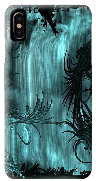 iPhone XS Max Case - Waterfall by Orphelia Aristal
