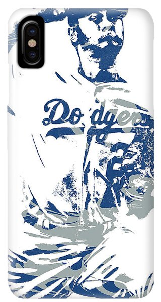 c16708b2266 Los Angeles Dodgers iPhone XS Max Case - Yu Darvish Los Angeles Dodgers  Pixel Art 5