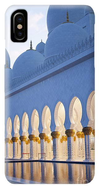 Prayer iPhone XS Max Case - Arches Of Grand Mosque Of Abu Dhabi by Ahmad A Atwah