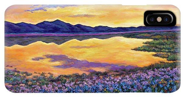 Rocky Mountain iPhone XS Max Case - Bluebonnet Rhapsody by Johnathan Harris