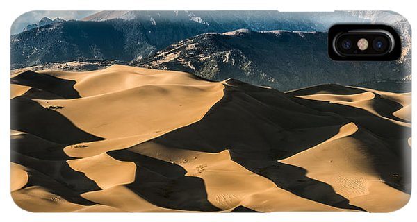 Rocky Mountain iPhone XS Max Case - Great Sand Dunes National Park Colorado by Kris Wiktor