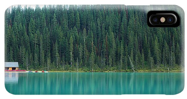 Rocky Mountain iPhone XS Max Case - Landscape Of Canadalandscape Of Canada by Lu Wenjuan