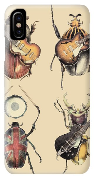 The iPhone XS Max Case - Meet The Beetles by Eric Fan