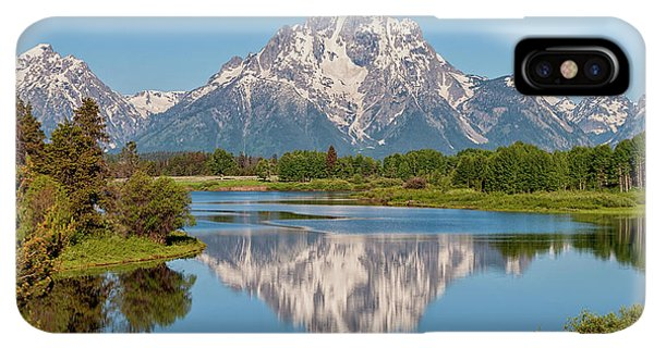 Rocky Mountain iPhone XS Max Case - Mount Moran On Snake River Landscape by Brian Harig