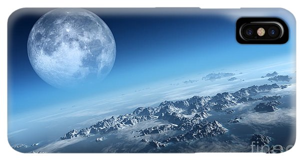 Rocky Mountain iPhone XS Max Case - Planet Earth Icy Ocean And Rocky by Johan Swanepoel