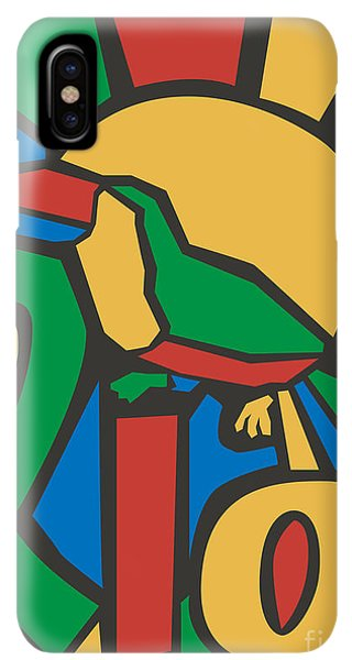 South America iPhone XS Max Case - Vector Illustration Rio Poster by Trentemoller