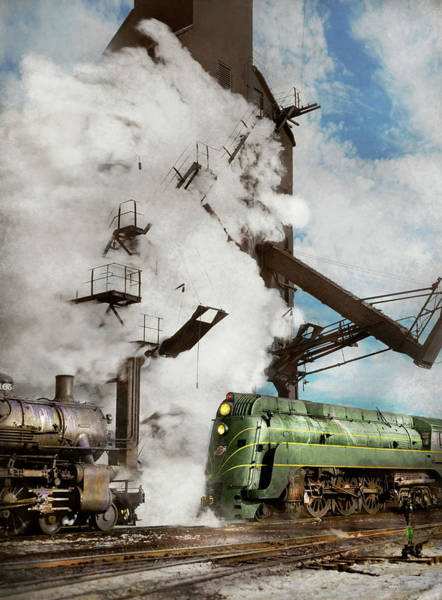 Chicago /& North Western Railway 8.5 x 11 color print
