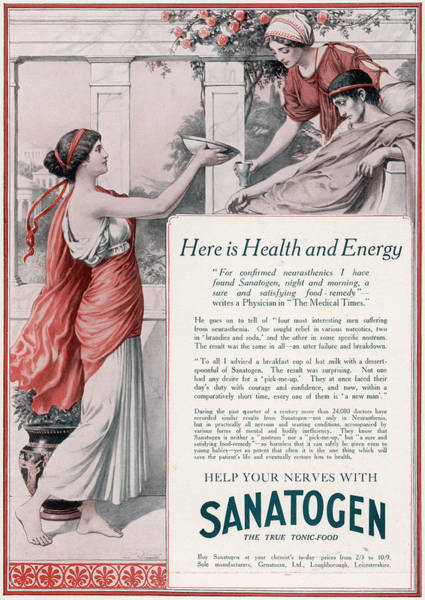 Help Your Nerves With Sanatogen - Poster