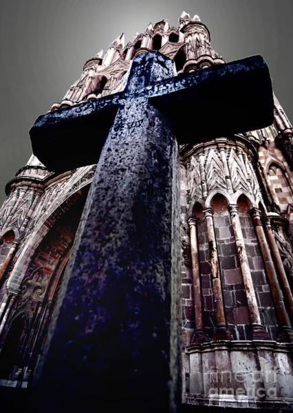 La Parroquia Cross Poster