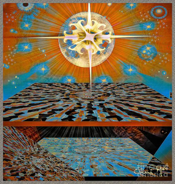 Poster featuring the digital art  Solar Energy by Eleni Mac Synodinos