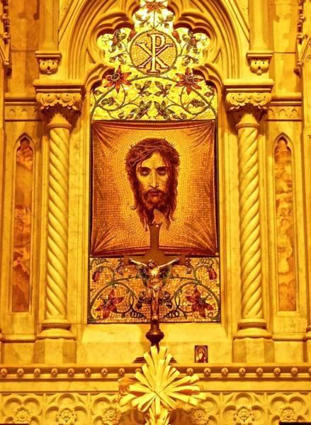 St. Patrick Nyc  Altar Poster