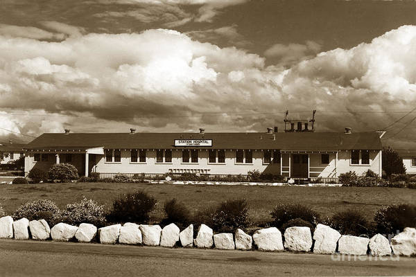 The Fort Ord Station Hospital Administration Building T-3010 Building Fort Ord Army Base Circa 1950 Poster