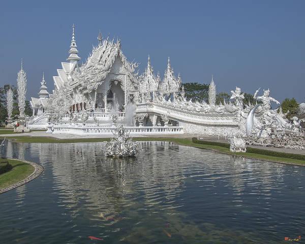 Wat Rong Khun Ubosot Dthcr0001 Poster