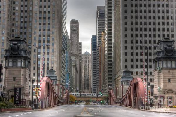 0295 Lasalle Street Chicago Poster