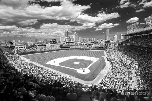 0416 Wrigley Field Chicago Poster