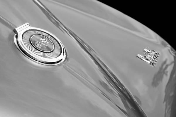 1966 Chevrolet Corvette Coupe Emblems Poster