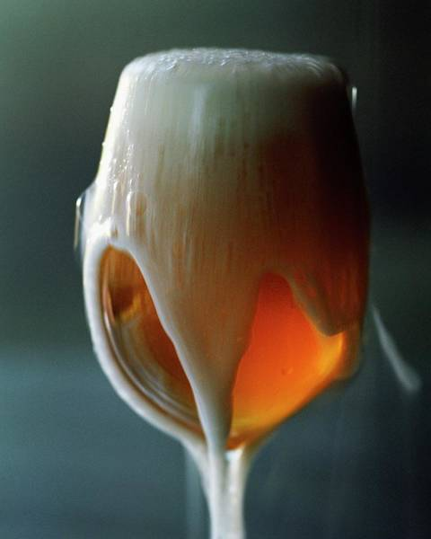 A Glass Of Beer Poster